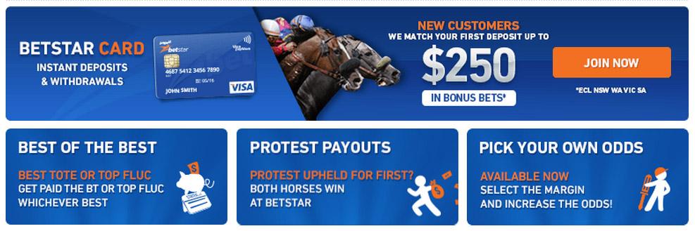 Betstar Promotions