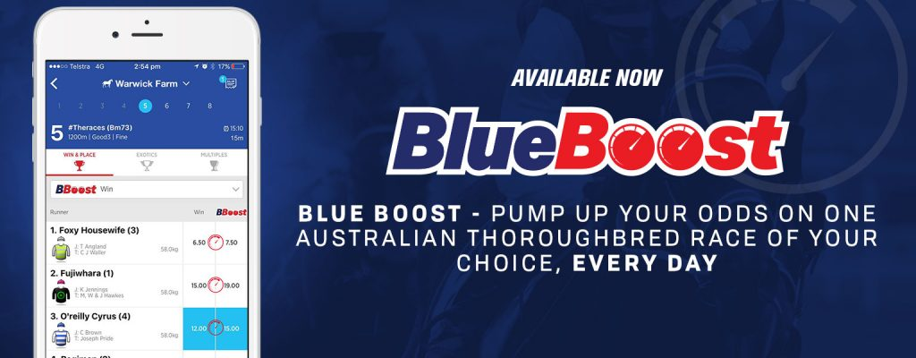 Bluebet Boosted Odds